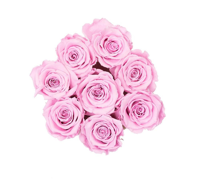 The Million Basic - Soft Pink Eternity Roses - Vanilla Box - The Million Roses Slovakia