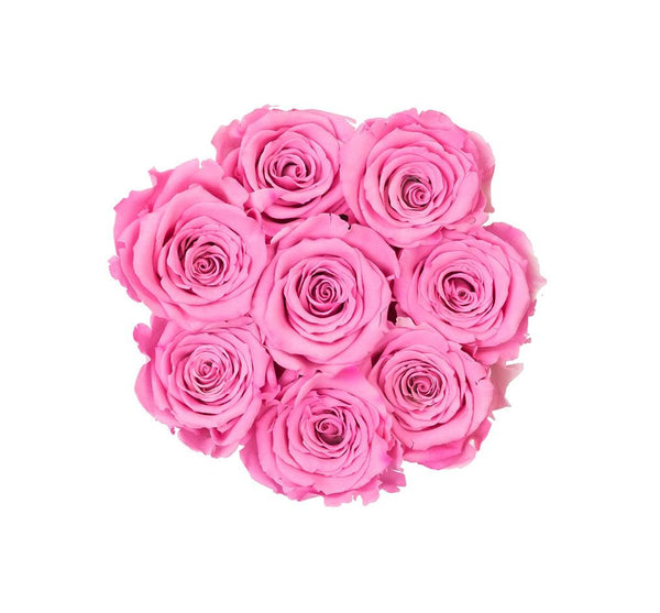 The Million Basic - Candy Pink Eternity Roses - White Box - The Million Roses Slovakia