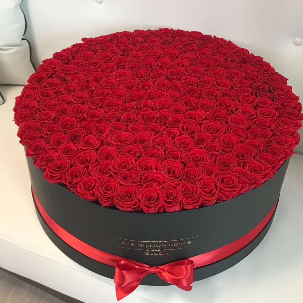 Mega Box- Large Eternity Box - The Million Roses Slovakia