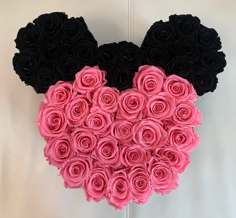 Minnie Mouse Medium Box -  Eternity Roses - The Million Roses Slovakia