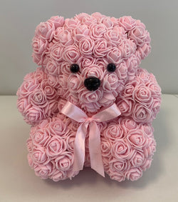 Rose Bear- Light Pink - The Million Roses Slovakia