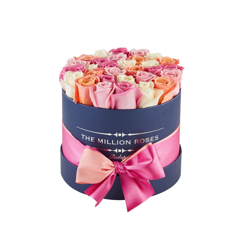 Small - Mix Roses - Black Box - The Million Roses Slovakia