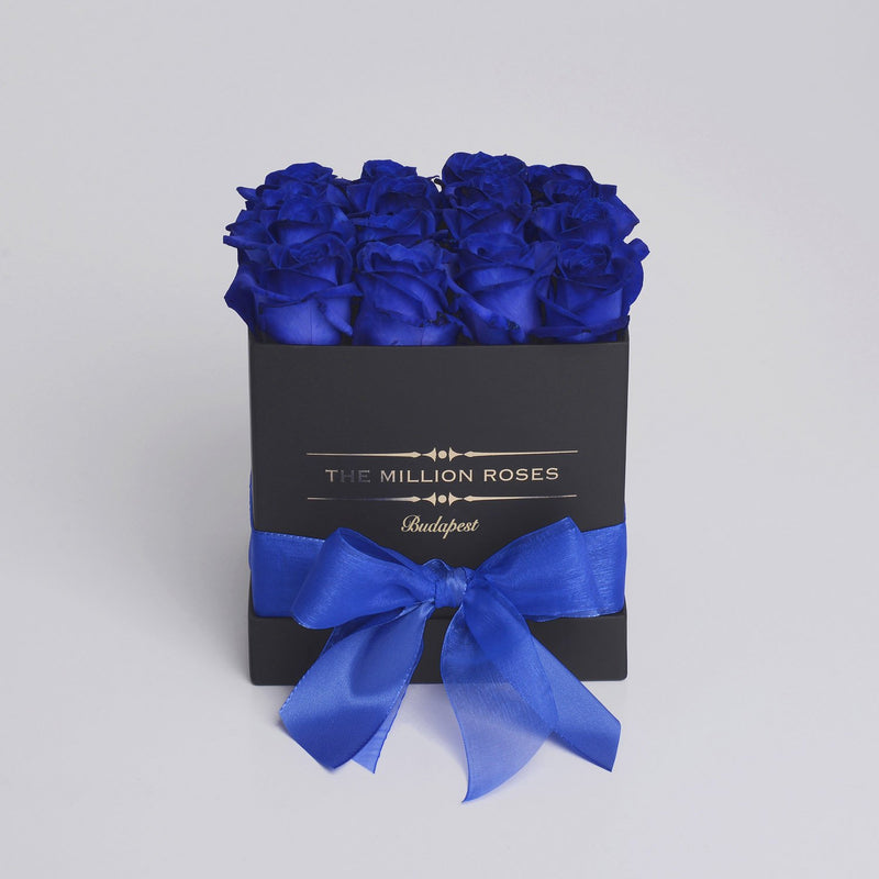 Cube - Blue Roses - Black Box - The Million Roses Slovakia