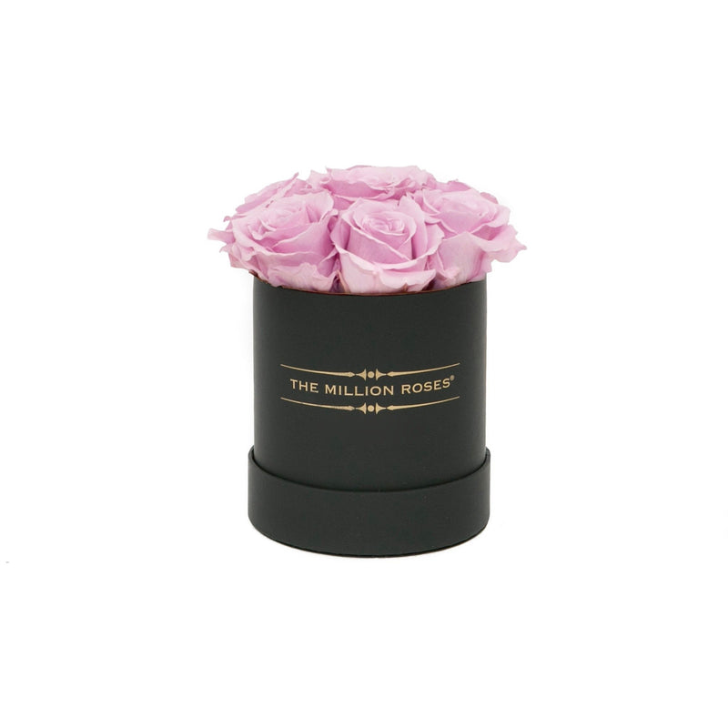 The Million Basic - Candy Pink Eternity Roses - Black Box - The Million Roses Slovakia
