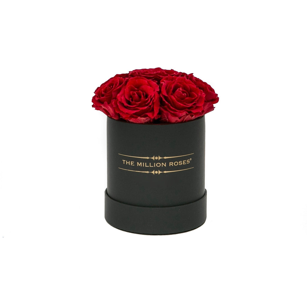 The Million Basic - Red Eternity Roses - Black Box