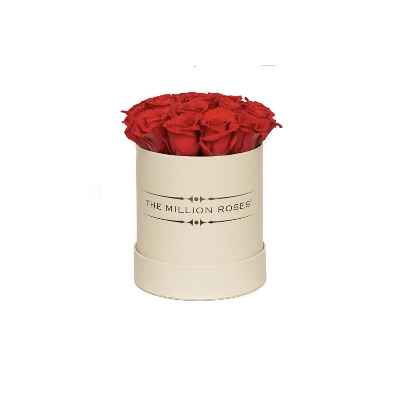 The Million Basic - Red Eternity Roses - Vanilla Box - The Million Roses Slovakia