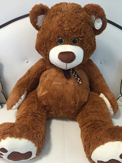Teddy Bear - Dark Brown - The Million Roses Slovakia