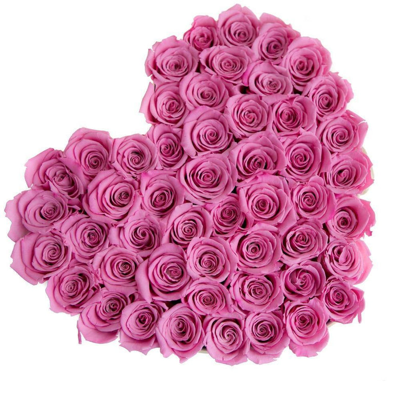 The Million Love Heart - Candy Pink Eternity Roses - Pink Box - The Million Roses Slovakia