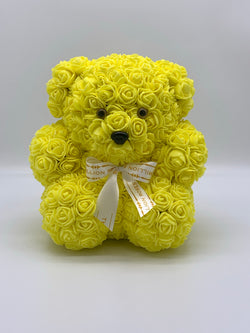 Rose Bear -Yellow - The Million Roses Slovakia