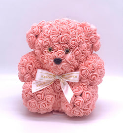 Rose Bear-  Peach - The Million Roses Slovakia