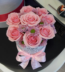 Kid's box -Light Pink Roses - The Million Roses Slovakia