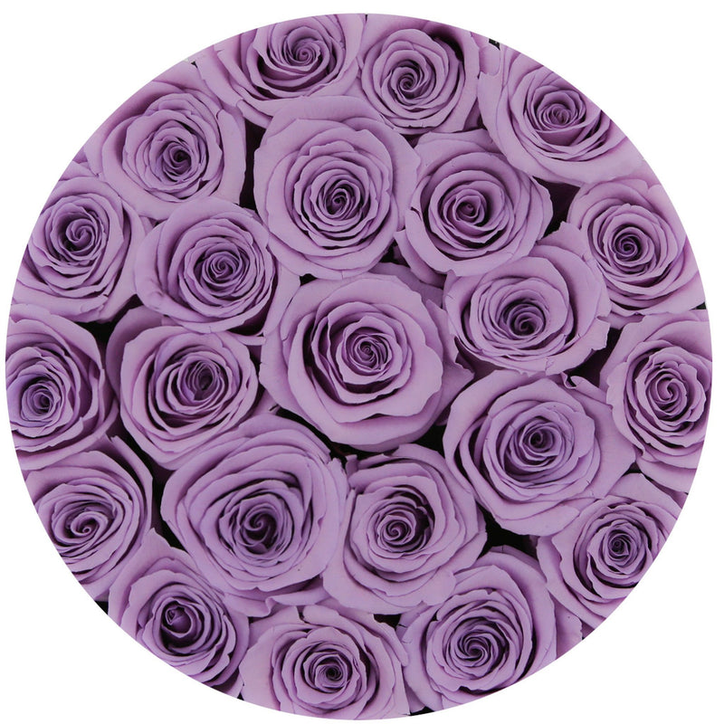 Small - Lavender Eternity Roses - Pink Box - The Million Roses Slovakia