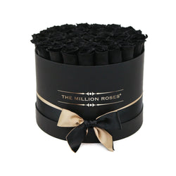 Medium - Black Eternity Roses - Black Box - The Million Roses Slovakia