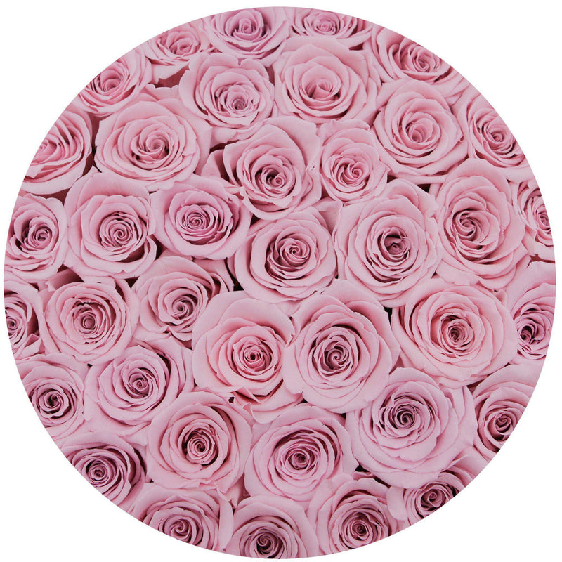 Medium - Pink Roses - Pink Box - The Million Roses Slovakia