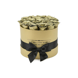Small - Gold Roses - Gold Box - The Million Roses Slovakia