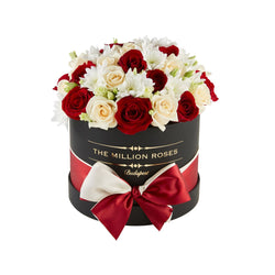 Small - Red Mix - Black Box - The Million Roses Slovakia