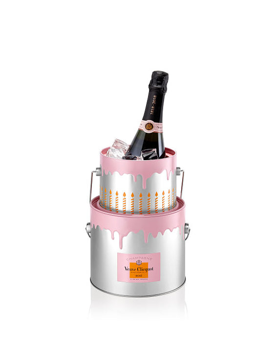 ROSE BIRTHDAY CAKE VEUVE CLICQUOT