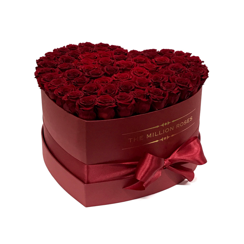 The Million Love Heart - Special Valentine's Edition - The Million Roses Slovakia