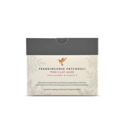 Frankincense Patchouli Pink Clay Mask - HYSSES