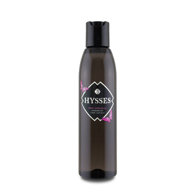 Massage Oil Rose Geranium - HYSSES