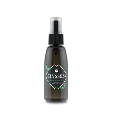 Body Oil Ginger Lemongrass - HYSSES