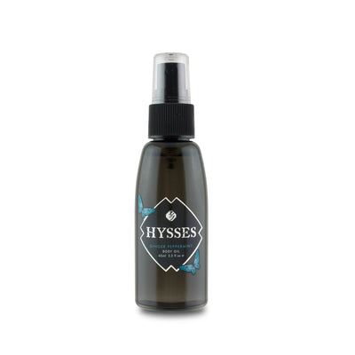 Ginger Peppermint Body Oil - HYSSES