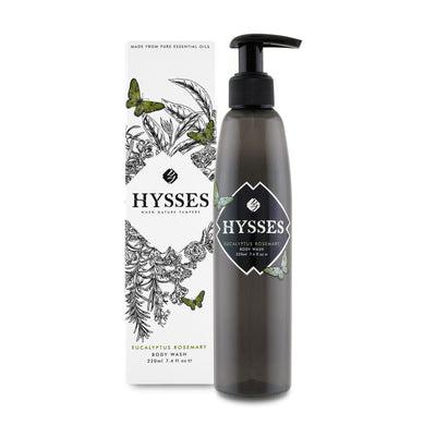 Eucalyptus Rosemary Body Wash - HYSSES