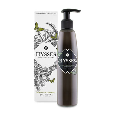 Body Lotion Eucalyptus Rosemary - HYSSES