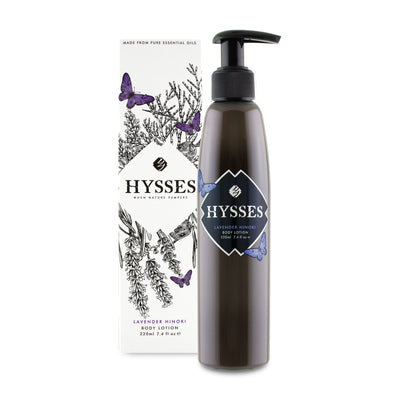 Lavender Hinoki Body Lotion - HYSSES