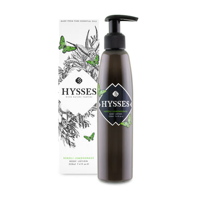 Neroli Lemongrass Body Lotion - HYSSES