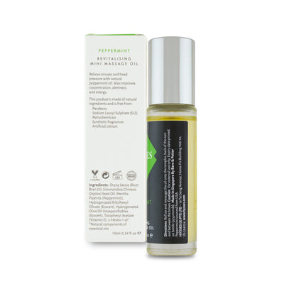 Peppermint Mini Massage Oil - HYSSES