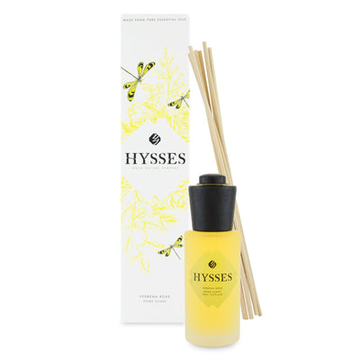 Verbena Rose Home Scent Reed Diffuser - HYSSES