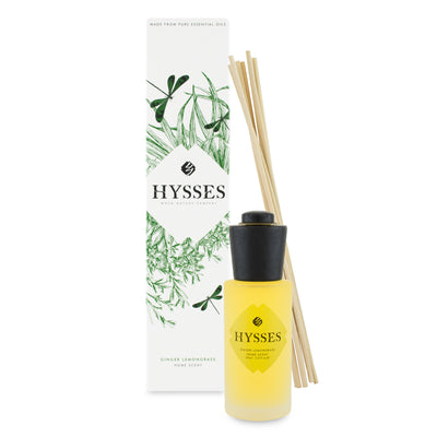 Home Scent Reed Diffuser Ginger Lemongrass - HYSSES