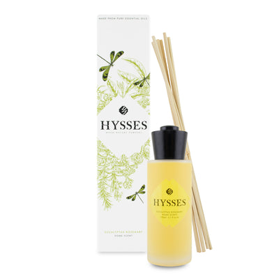 Home Scent Reed Diffuser Eucalyptus Rosemary - HYSSES