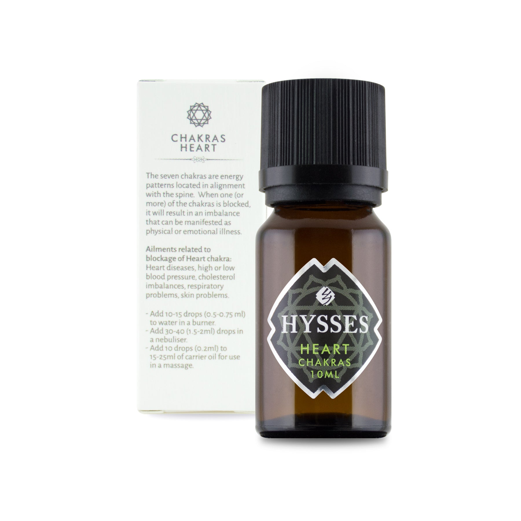 Heart Chakra Essential Oil - HYSSES