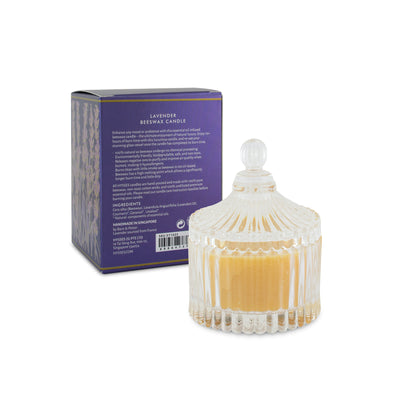 Lavender Beeswax Candle - HYSSES