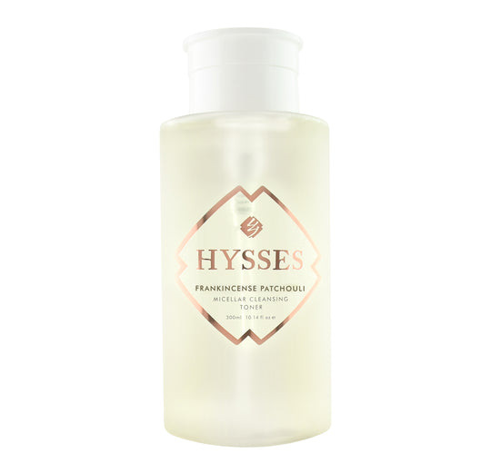 Frankincense Patchouli Micellar Cleansing Toner - HYSSES