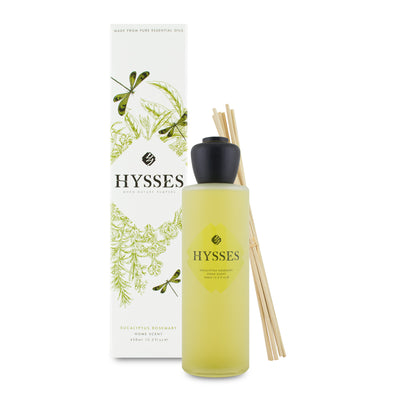 Eucalyptus Rosemary Home Scent Reed Diffuser - HYSSES