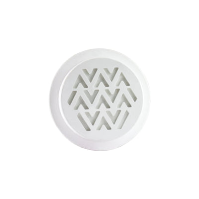 Car Vent Clay White
