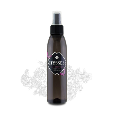 Rose Geranium Body Mist - HYSSES
