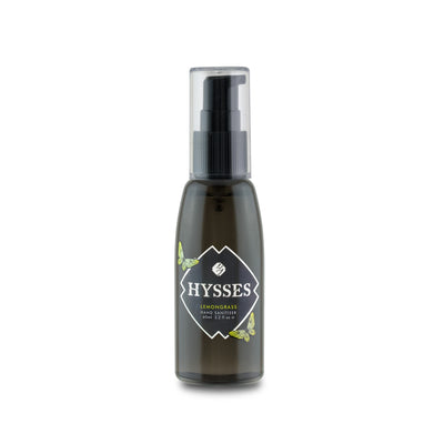 Lemongrass Hand Sanitiser - HYSSES