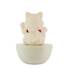 Fortune Cat Clay Diffuser - HYSSES