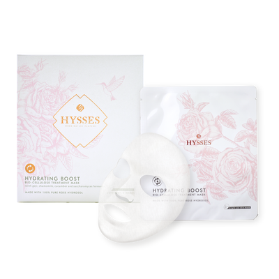 Hydrating Bio Cellulose Mask Rose - HYSSES