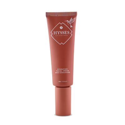 Hydrating Facial Cream Rose Sandalwood - HYSSES
