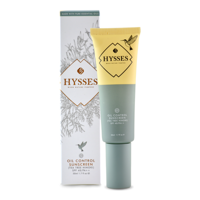 Oil Control Sunscreen Tea Tree Hinoki SPF 40 / PA++ - HYSSES
