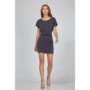 Krista Waist Knot Modal Knit Dress - [product_brand]