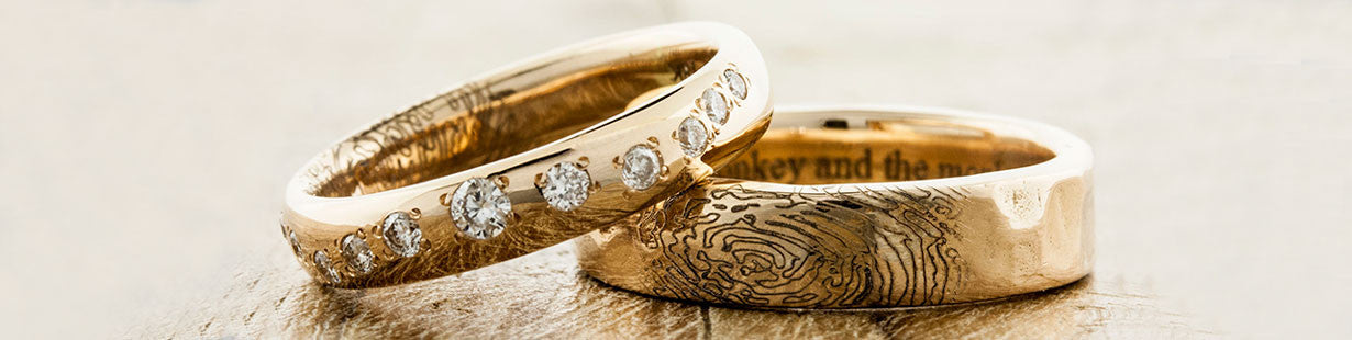 wedding rings - Handmade Wedding Rings