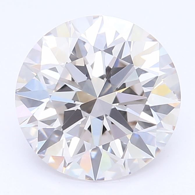 0.90 Carat Round Lab Grown Diamond