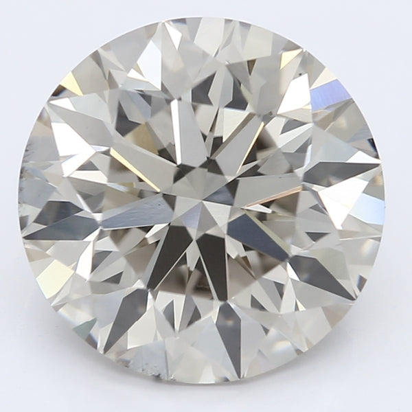 3.01 Carat Round Lab Grown Diamond