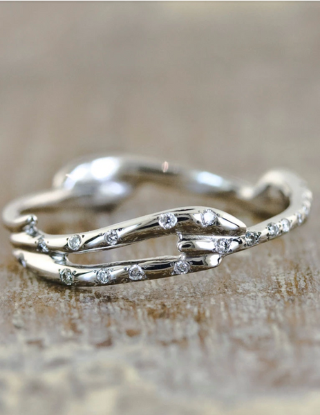 Aurora + Selene Ring Set